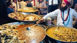 Akbar Jee Siri Paye - Kartarpura Street Food Rawalpindi   Chickpea With Boiled Eggs   Murgh Chole