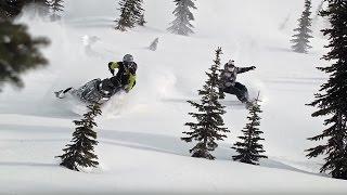 Travis Rice & Dan Adams: Backcountry Snowmobiling Reunion (CONVERGENCE)