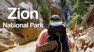 Hiking Zion National Park - Camping & Backpacking in Southern Utah