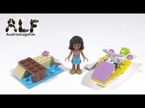 Vidéo LEGO Friends 41000 : La motomarine