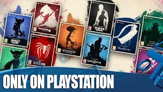 The Only On PlayStation Collection - Stunning Art For PS4's Iconic Exclusives