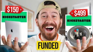 I Bought The Most Expensive Kickstarter Products!!