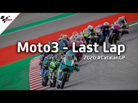 Moto3 カタルーニャGP 気になるラストラップを集めたダイジェスト動画