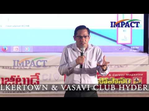 Join Indian Army| Sunil | TELUGU IMPACT Hyd Apr 2017