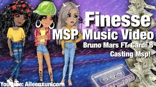 Finesse  Bruno Mars FT Cardi B MSP Music Video