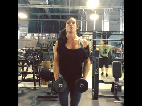 Dumbbell 1 and a half Lateral Raises