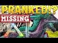 I GOT PRANKED (MISSING ROCK DRAKE)! - ARK SURVIVAL EVOLVED ABERRATION EXPANSION #18