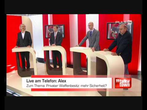 Part 3: Diskussion mit Dr. Georg Zakrajsek 17.11.09 zum Thema Waffenbesitz