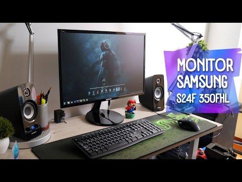 MEJOR MONITOR de TRABAJO de S/.600? Samsung24'' 1080p [Review]