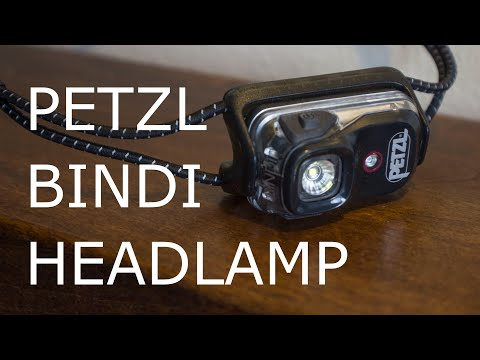 Petzl Bindi Headlamp Review