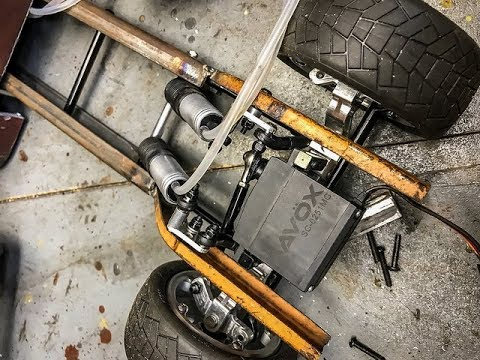 Real RC Air Ride, Front Suspension Fabrication With Proairrc.com  Rat Rod Ramp Truck Scratchbuild