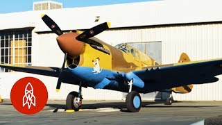 Racing Against the Odds in a WWII Plane