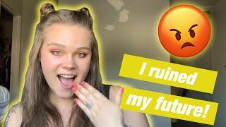 Ruining My Future With Hand Tattoos | Hand Tattoo Vlog!