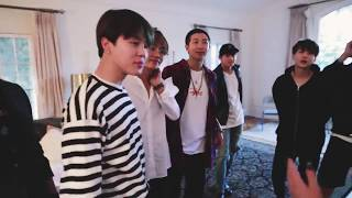 BTS and Halsey┊HALSEY BROUGHT BTS CHURROS