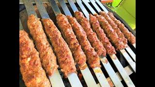 ЛЮЛЯ -КЕБАБ. Получается у всех!   Lyulya-Kebab.