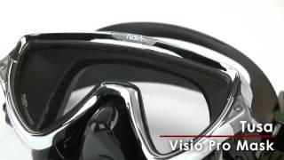 Маска для плавания и дайвинга TUSA VISIO PRO M-110SQB CR от компании Магазин Calipso diveshop, Магазин Aquamarin - видео