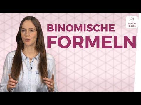 Cover: Binomische Formeln einfache Erklärung I schnell verstehen - YouTube