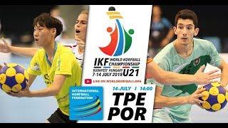 IKF U21 WKC 2018 TPE-POR