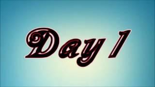 English week. Day 1