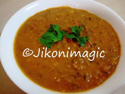 Ndengu   Pojo   Mung Dal Curry in Coconut Cream   Jikoni Magic