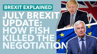 Brexit Deal Negotiations Collapse: July Brexit Update - TLDR News