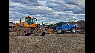 Rebuilding A Wrecked Jeep Rubicon Part 1