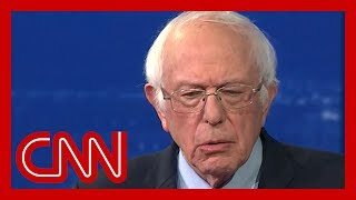 Bernie Sanders won't rule out accepting Bloomberg's money | CNN Town Hall