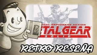 preview picture of video 'Retro Reseña - Metal Gear Solid'