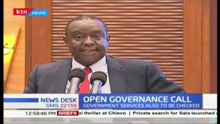 DP William Ruto launches open government action plan that will allow for civic participation
