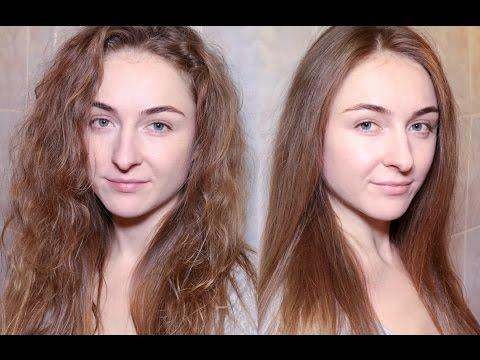 Как уложить непослушные вьющиеся волосы