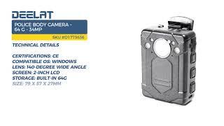 Police Body Camera – 64 G - 34MP