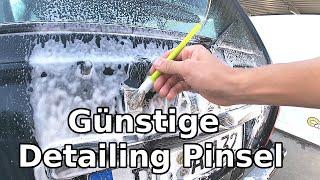 Günstiges Detailing Pinsel Set im Test || Detailing Pinsel = ein Muss für jeden AutoVerrückten ;)