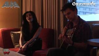 "Mirage acoustic hotel room session VI ""Who Is Watching"", by Nadia Ali and Eller van Buuren"