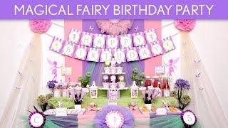 Magical Fairy Birthday Party Ideas // Magical Fairy - B95