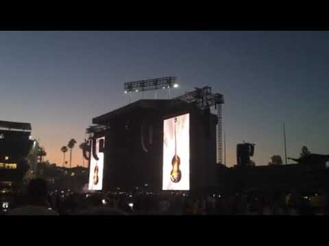 Paul McCartney Dodger Stadium 2019 Intro/Hard Days Night