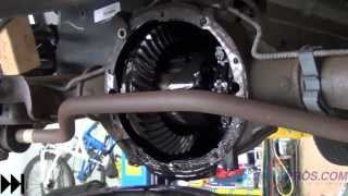 Differential Fluid Drain/Refill