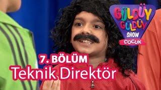 Güldüy Güldüy Show Çocuk 7. Bölüm, Teknik Direktör Skeci