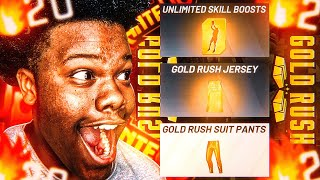 I WON GOLD RUSH IN THE CRAZIEST WAY ON NBA2K20! UNLIMITED BOOST + VC (EMOTIONAL)
