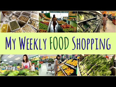 Video My Weekly FOOD Shopping (Healthy Grocery Guide)