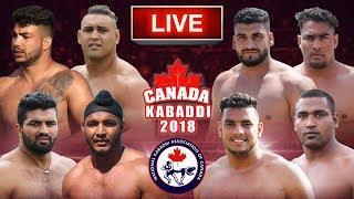 LIVE - CANADA KABADDI 2018 | NKAC Kabaddi Cup