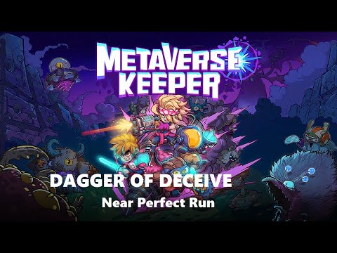 Showing off Dagger of Deceive - Metaverse Keeper