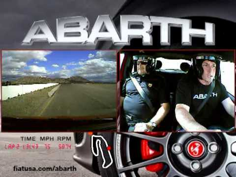 Fiat 500 Abarth Race Track Competition – Driving Dynamics