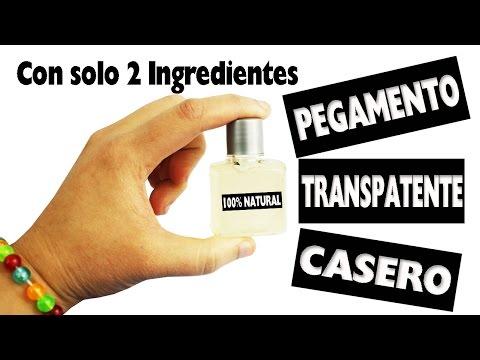 DIY | Pegamento Transparente 100% Casero con solo 2 ingredientes - Manualidades super fáciles