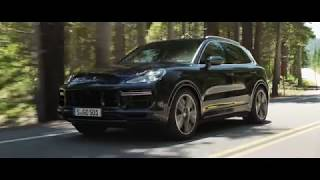 The new Porche Cayenne Turbo Press film