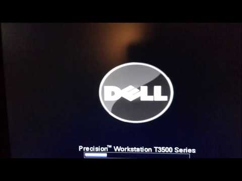 Dell Precision T3500/T5500 Boot Sequence Setup in Bios and