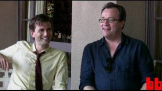Doctor Who: David Tennant + Russell T. Davies, the Metzger Interview (Boing Boing Video)