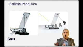 Ballistic Pendulum Lab with data