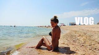 Отдых ИЮЛЬ 2017 ● Арабатская стрелка, Счастливцево ● ПОИСК жилья 4 часа ● Пляж, РОЗОВОЕ озеро