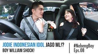 Jodie Indonesian Idol Jago ML!? Boy William Shock! - #NebengBoy Eps 08