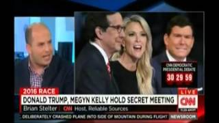 CNN: Fox's Megyn Kelly Meets Privately With Donald Trump